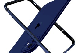 Ochrona boczna etui na iPhone 12 mini luksusowe metalowe