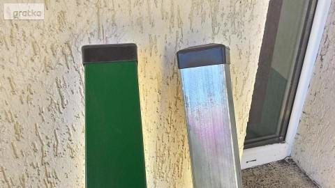 Słupek Panelowe 60x40mm 2,40m ocynk+malowanie proszkowe RAL