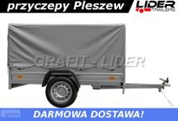 LTK-21 przyczepa + plandeka 200x125x112cm, lekka, towarowa, DMC 750kg