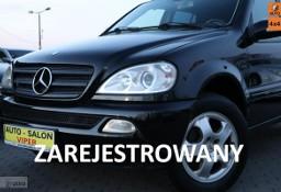 Mercedes-Benz Klasa ML W163 Model 2002 * Skóra * 6-bieg * Klima * Zarejestrowany * 4x4