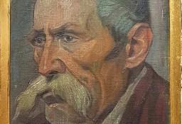 Henryk Langerman, 1920 r. portret, olej/ płótno klejone na deskę