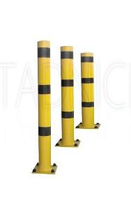 Ochrona bram i garaży, zabezpieczenie garażu odbojnica słupowa 100 cm-2