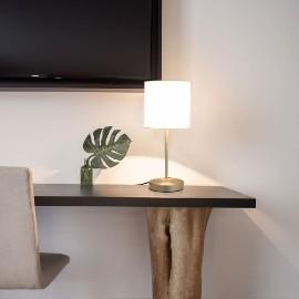 vidaXL Lampy stołowe, 2 szt., dotykowe, białe, E14 51038