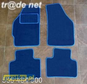 Fiat Punto III od 2003r. najwyższej jakości dywaniki samochodowe z grubego weluru z gumą od spodu, dedykowane Fiat Punto