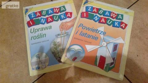 2 ksiazki z serii Zabawa i nauka