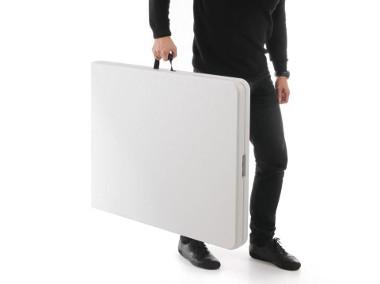 Składany stół walizka 1520x700mm lekki Hendi-1