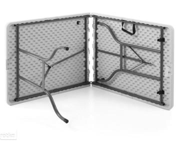 Składany stół walizka 1520x700mm lekki Hendi-2