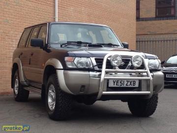 Nissan Patrol V [Y61] ZGUBILES MALY DUZY BRIEF LUBich BRAK WYROBIMY NOWE