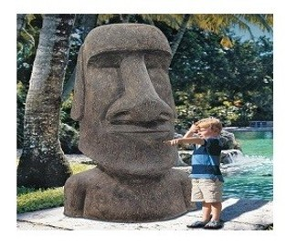 Moai z Wyspy Wielkanocnej