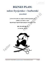 BIZNESPLAN – salon fryzjersko - barberski (przykład)