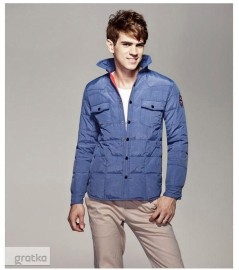 Kurtka al'a koszula gruba ocieplana casual Boutique High Quality Rozmiar M (S)