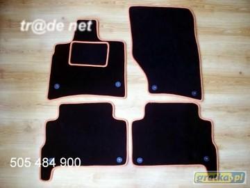 AUDI Q7 od 2010 do 2015 r. najwyższej jakości dywaniki samochodowe z grubego weluru z gumą od spodu, dedykowane Audi Q7