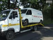 Transport samochodów dostawczych busów osobowych terenowych kontenerów