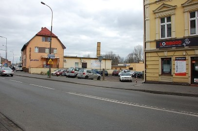 Działka usługowa Wągrowiec, ul. Kolejowa