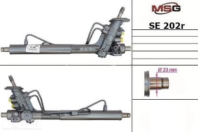 Przekładnia kierownicza ze wspomaganiem hydraulicznym Seat Arosa, Skoda Fabia, Vw Caddy, Vw Lupo, Vw Polo SE202R