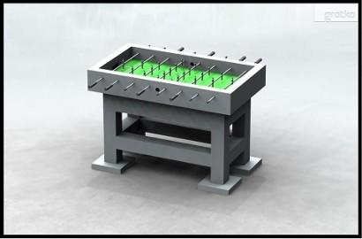 Stół betonowy zewnętrzny piłkarzyki na plac zabaw