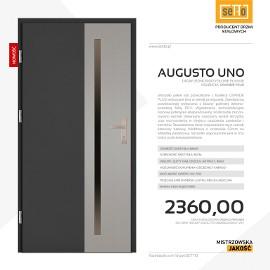 Drzwi wejściowe stalowe SETTO model AUGUSTO UNO PLUS