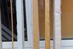Listwy do wykonania opasek drzwiowych z MDF, wymiary szer. 8 cm, dł. 220 cm.