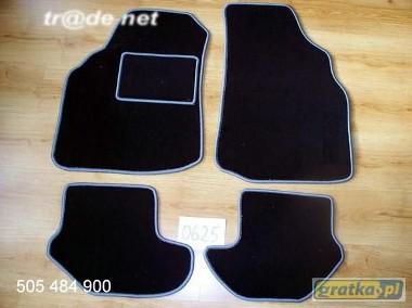 Ford Puma 1997-2002 najwyższej jakości dywaniki samochodowe z grubego weluru z gumą od spodu, dedykowane Ford Puma-1