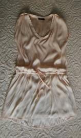 Dłuższa bluzka pudrowy róż  S  Vila