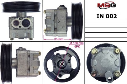 Pompa wspomagania hydraulicznego Infiniti Fx IN002