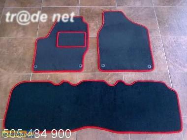VW Sharan II od 2000 do 2010 r. 2 rzędy siedzeń najwyższej jakości dywaniki samochodowe z grubego weluru z gumą od spodu, dedykowane Volkswagen Sharan-1