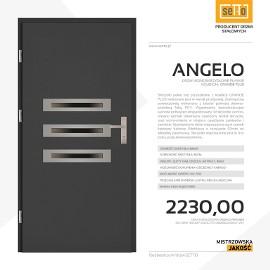 Drzwi wejściowe stalowe SETTO model ANGELO PLUS