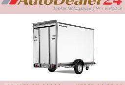 AutoDealer24.pl [NOWA FV Dowóz CAŁA EUROPA 7/24/365] 260 x 155 x 150 cm Brenderup CARGO 7260B RAMPA