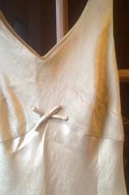Kremowa sukienka z marynarką-2