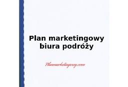 Plan marketingowy biura podróży