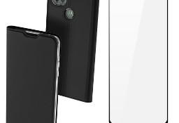 Etui DUX DUCIS + szkło pełne do Motorola Moto G9 Power czarny