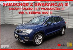 SEAT Ateca AUTOMAT + Salon PL + 1 WŁ + 100% Serwis SEAT !!!
