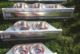 Karmidła Miski obrotowe aluminiowe
