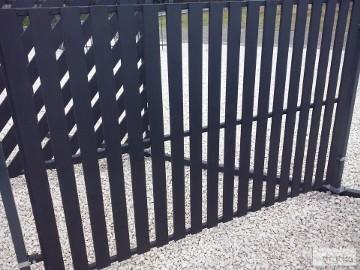 Przęsło panel ogrodzeniowy P12a ceownik 70x10 ocyn+kolor