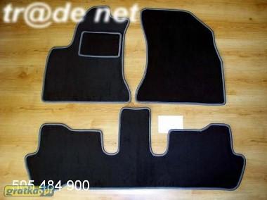 Citroen C4 Grand Picasso od 2010 r. 3 rzędy najwyższej jakości dywaniki samochodowe z grubego weluru z gumą od spodu, dedykowane Citroen C4-1
