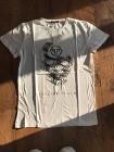 Philipp Plein T-shirt cotton back logo koszulka M biała