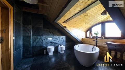 Płytki kamienne szlifowane do łazienki łupek Silver Grey 30x60x1,2cm
