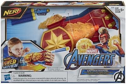 Kapitan Marvel Avengers Nerf Photon Blaster Rękawica Wyrzutnia