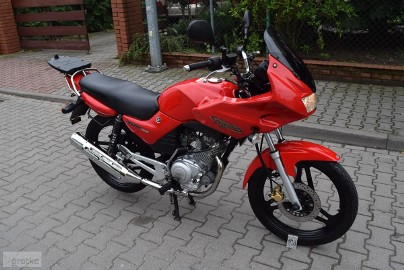 Yamaha YBR 125 S KSIĄŻKA SERWISOWA, 1 ręka, oryginał z DE, na kat.B