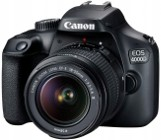 Aparat Canon EOS 4000D obiektyw EF-S 18-55 DC III