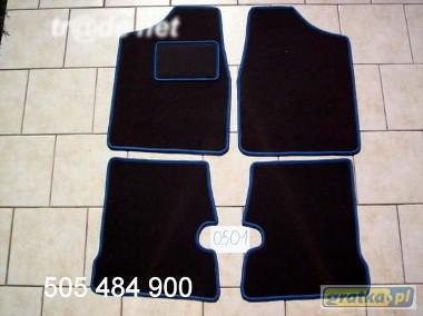 Fiat Cinquecento 1991-1998 najwyższej jakości dywaniki samochodowe z grubego weluru z gumą od spodu, dedykowane Fiat Cinquecento-1