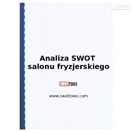 Analiza SWOT salonu fryzjerskiego