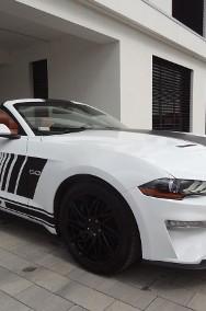 Ford Mustang VI Cabrio GT 5.0 V8 450 KM AUTOMAT Kamera NAVI Lift-2