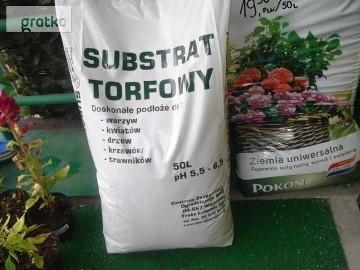 TORF, SUBSTRAT TORFOWY, KORA OGRODNICZA WAWER