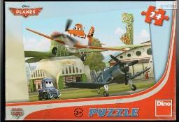 Puzzle 24 elementy. Samoloty 3+