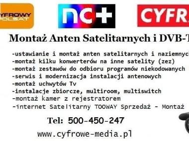 Montaż ANTEN KAŹMIERZ, PAMIĄTKOWO, Cerekwica TEL: 500.450.247-1