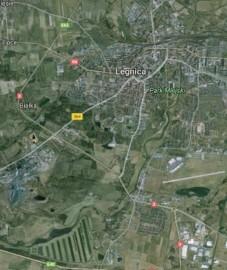 Działka usługowa Legnica