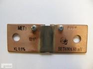 bocznik prądowy BET 600A/60mV