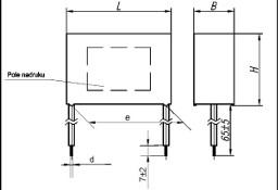 Kondensator rozruchowy 1,0µF MKSP-8