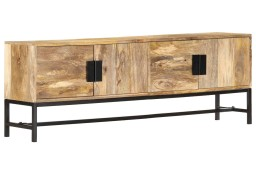 vidaXL Szafka pod telewizor, 140x30x50 cm, lite drewno mango 285863